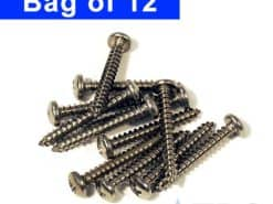 Stainless Screws for 5″ Polylok™ Driveway Drain Grates – 12