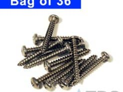 Stainless Screws for 5″ Polylok™ Driveway Drain Grates – 36