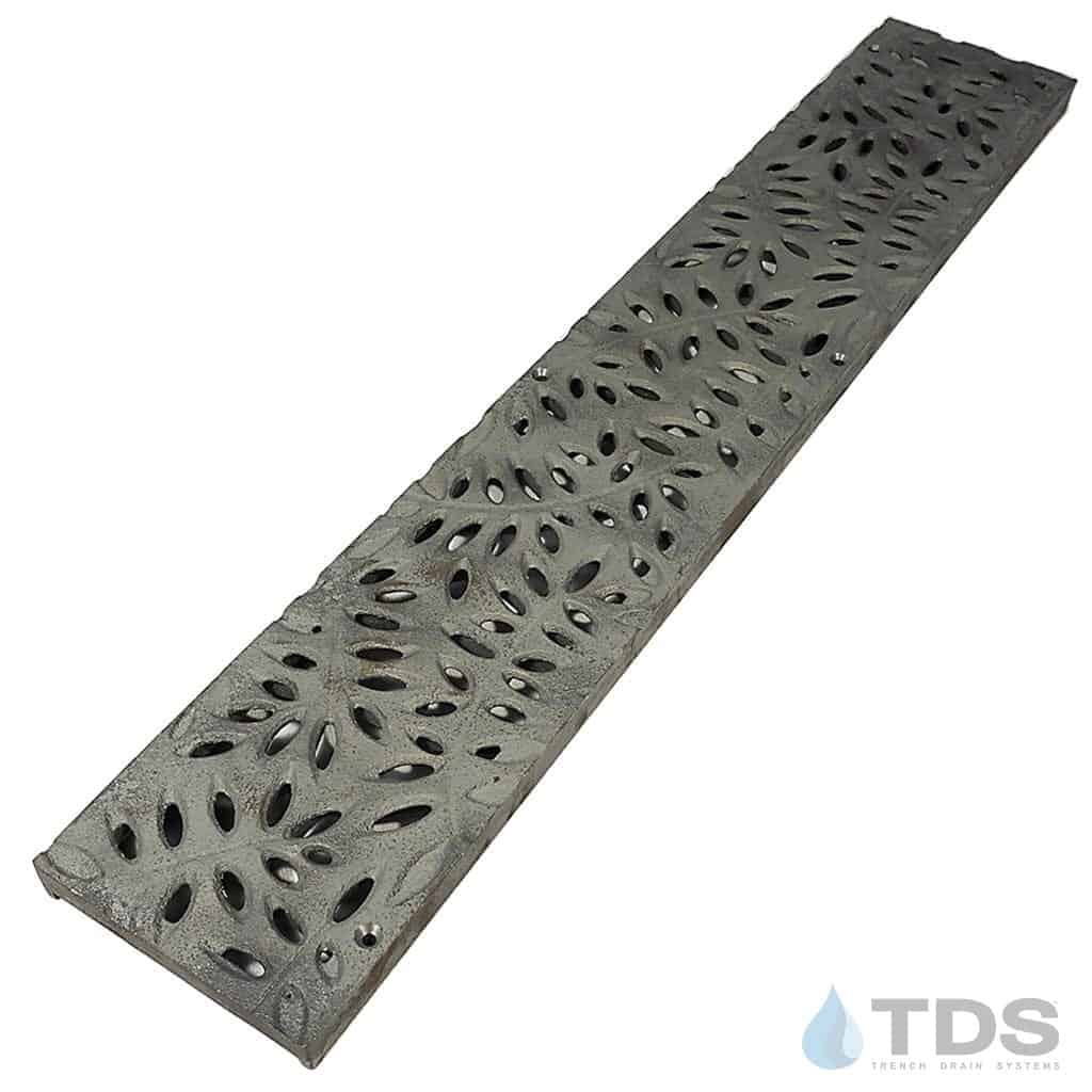 NDS-Botanical-cast-iron-grate-TDSdrains