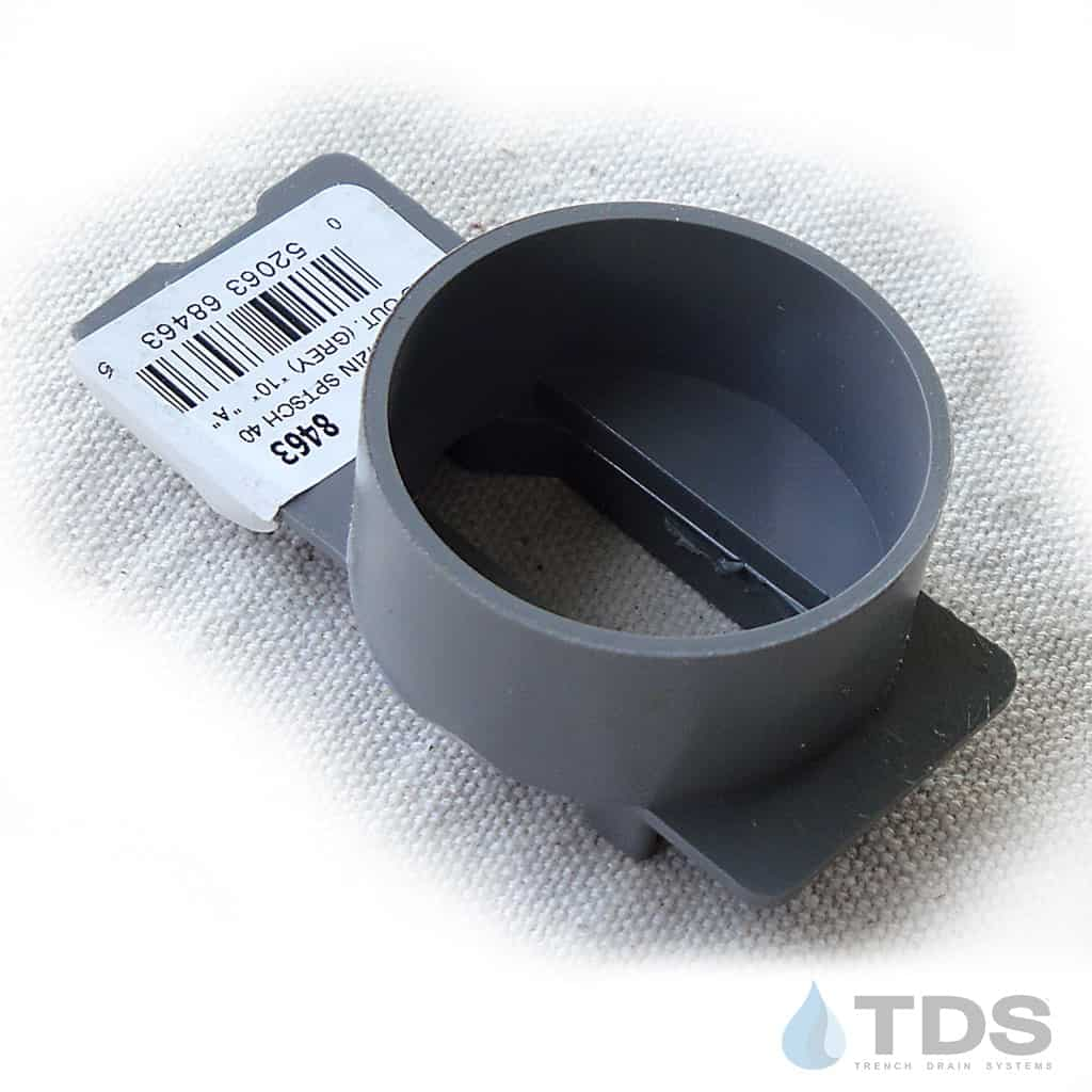 NDS-8463 End Outlet Gray