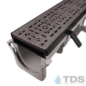 NDS-Dura-DI-603-TDSdrains cast iron tile grate cast iron frame hpde channel nds