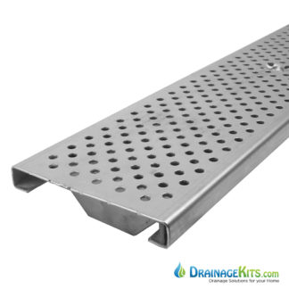 DG0657R Polycast Stainless Perforated grate - Reinforced