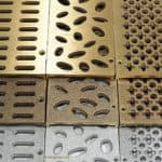 Mini Channel Sample Kit Bronze and Aluminum Grating
