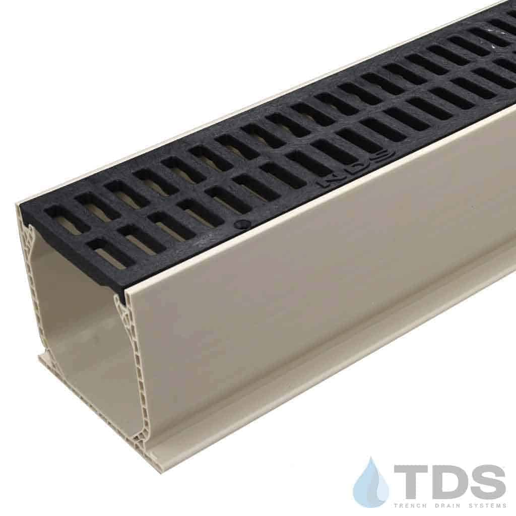 MCKS-540B Black Slotted Grate Mini Channel