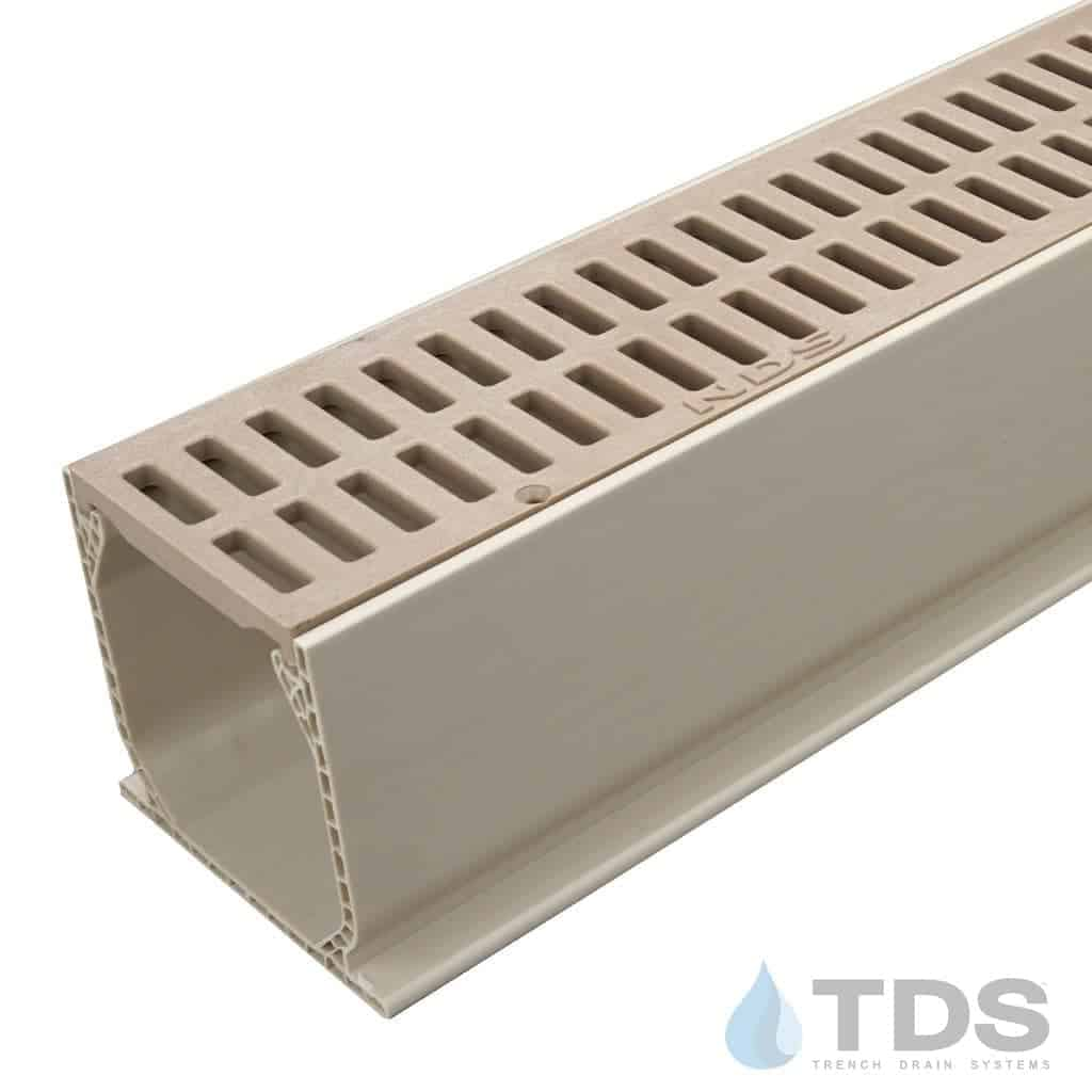 NDS Slotted Poly Grate with Sand Mini Channel MCKS-543