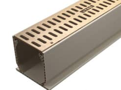 3″ TDS™ Sand Channel Kit w/Bronze Slotted Grates