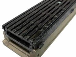 POLYCAST® 500 w/ ADA Transverse Slotted Grate DG0675HD