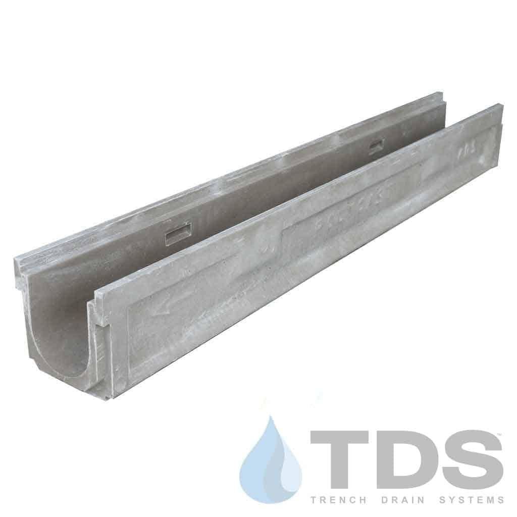 Polycast-600Channel-DK polymer concrete pre sloped channel