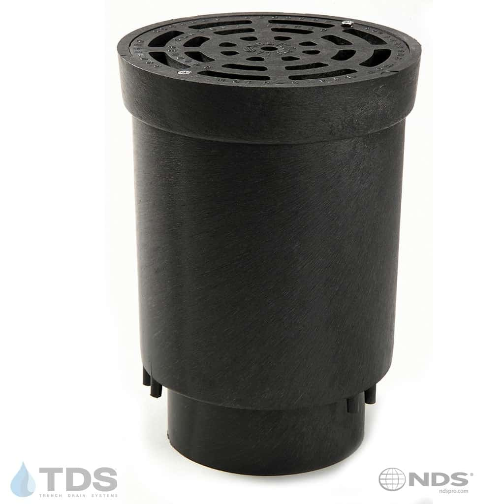 "NDS FWSD69 Flo Well 6"" x 4"" Surface Drain Inlet"