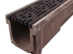 6″ POLYCAST® Drainage Kit w/Deco Ductile Iron Grate – The Patriot