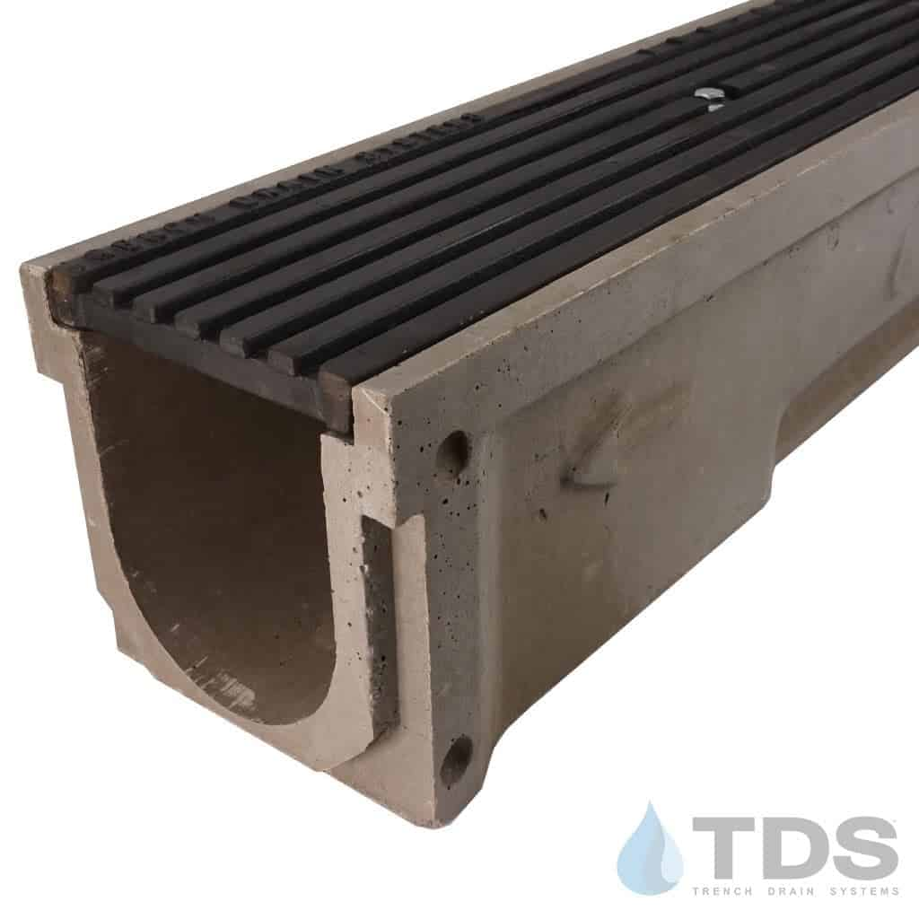 POLY600-xx-675D-TDsdrains cast iron transverse ada grate polymer concrete channel Polycast