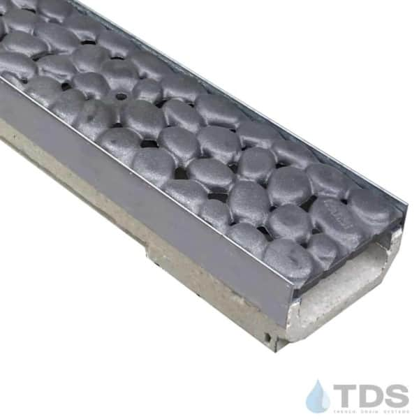 M100KX Ulma Stainless Steel edge channel Iron Age River Rock Raw Grate