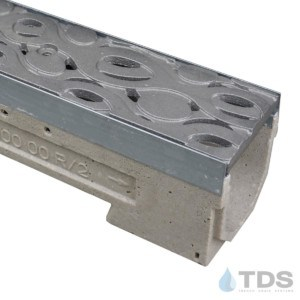 U100K-Janis cast iron raw ironage grate polymer concrete ulma channel