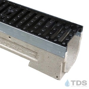 U100K-TDS0461 cast iron class E grate ulma polymer concrete channel