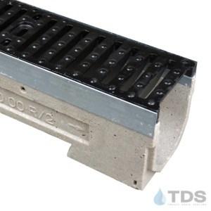 U100K-TDS0461 cast iron class E grate ulma polymer concrete channel