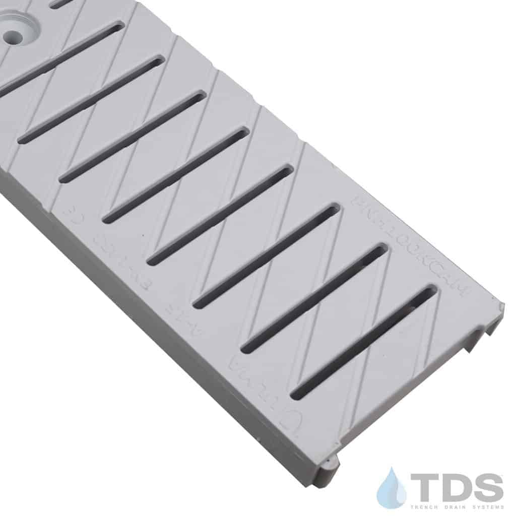 ULMA Gray slotted poly plastic grate part 495 PNH100KCAM