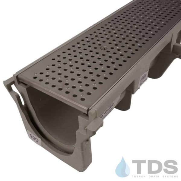 NDS Dura Slope Stainless Steel Perforated Grate NDS226