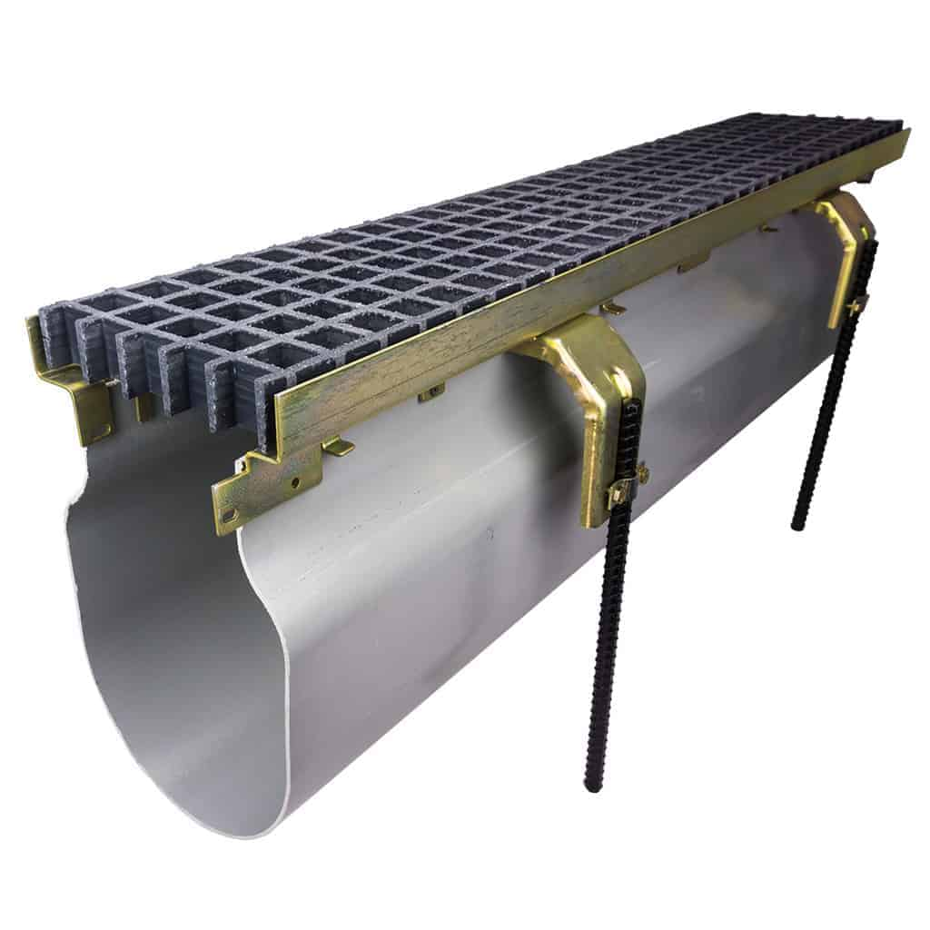 Trench Drain Systems 3000 Series with Fiberglass grating