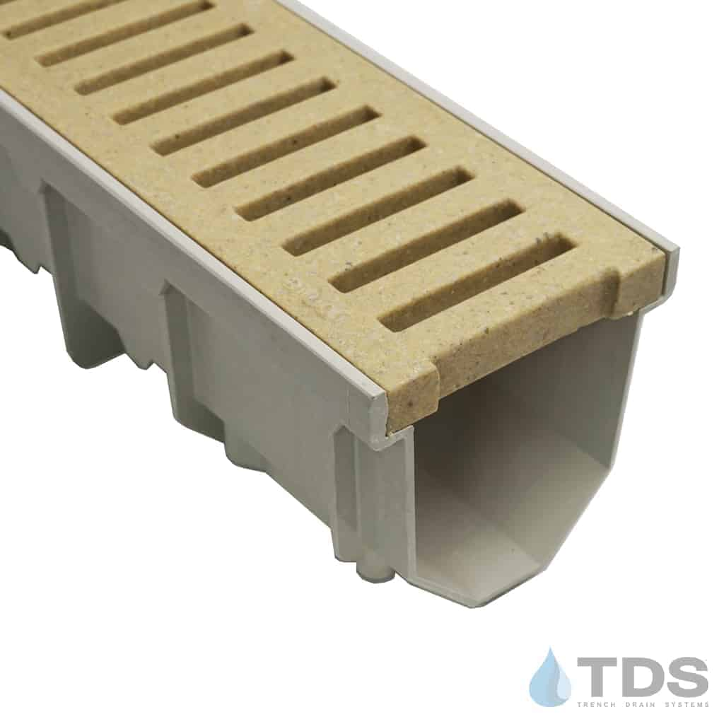 Jonite 5 inch Desert Beige Grate on MEARIN 100 Channel
