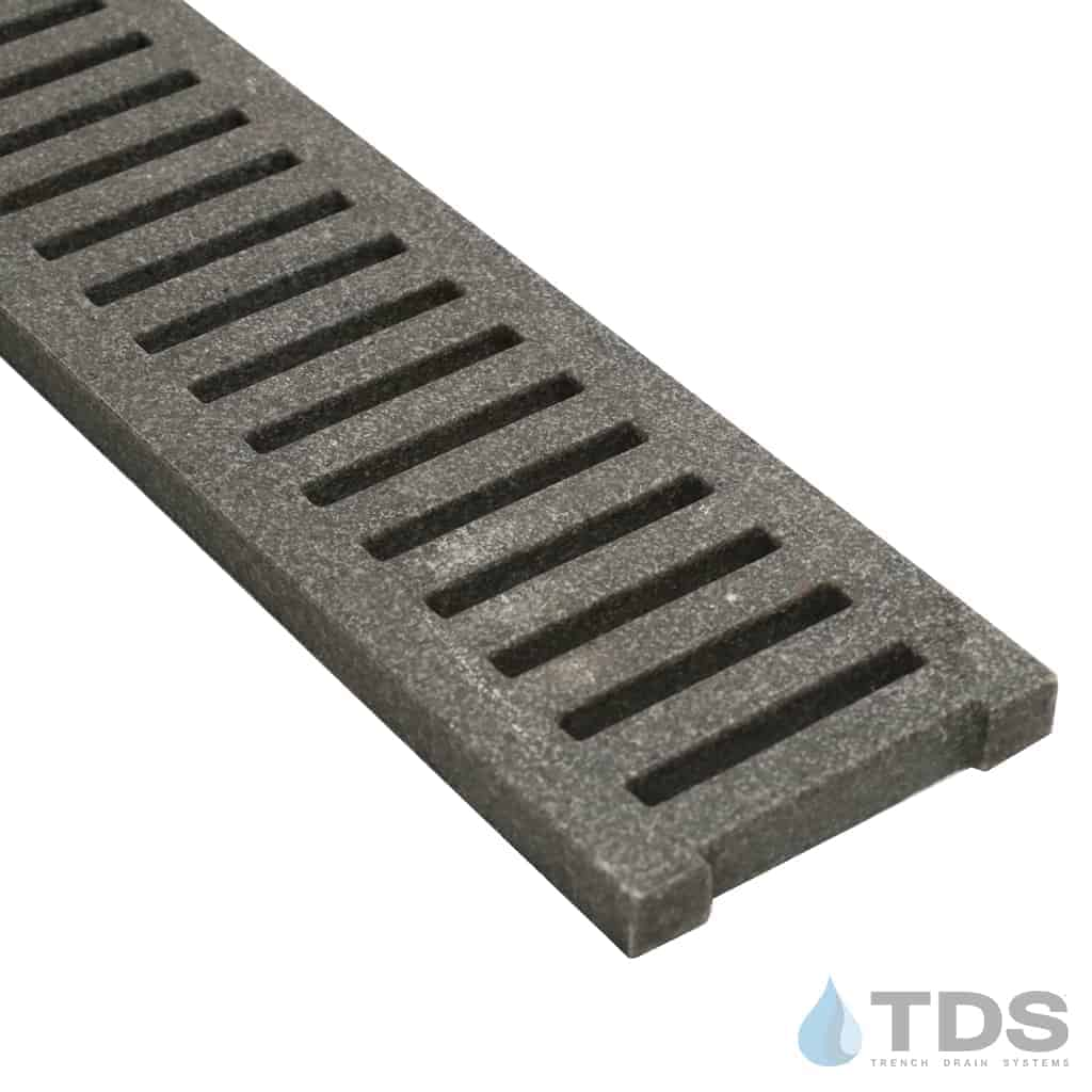 Jonite 5 inch Gray Slotted Grate