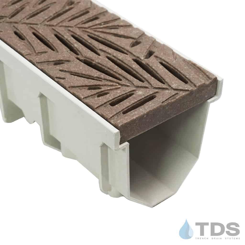 Jonite 5 inch Mocca Brown Nature Grate on MEARIN 100 Channel