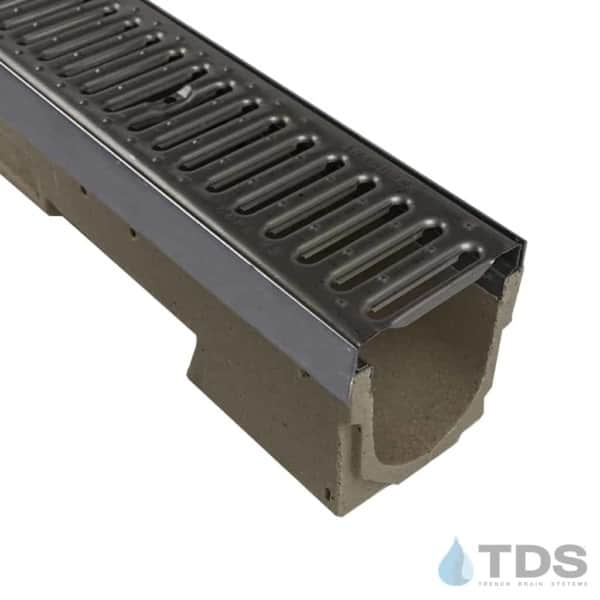 ULMA U100KX with Stainless Steel Edge and Stainless Steel Slotted Grate