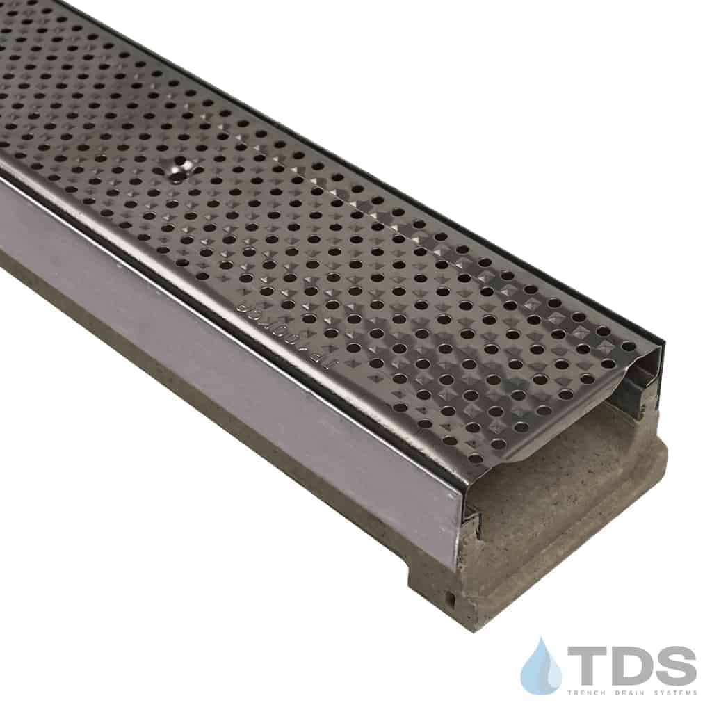 ULMA M100KX with Stainless Steel Edge and Stainless Steel Perforated Grate
