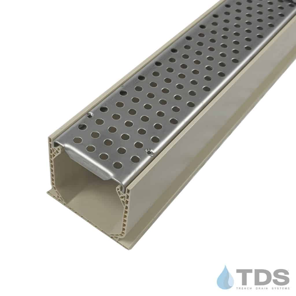 NDS Mini Channel with Stainless Steel Perforated Grate