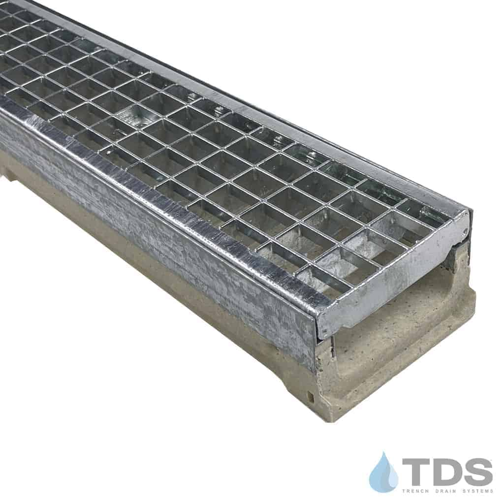 M100K- with 402 Galvanized Mesh Grate