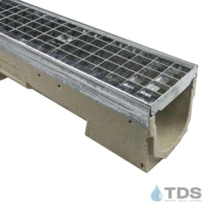 U100K with 402 Galvanized Steel Mesh Grate