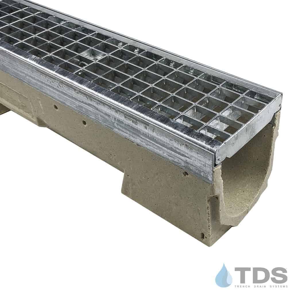 U100K with 402 Galvanized Steel Mesh Grate