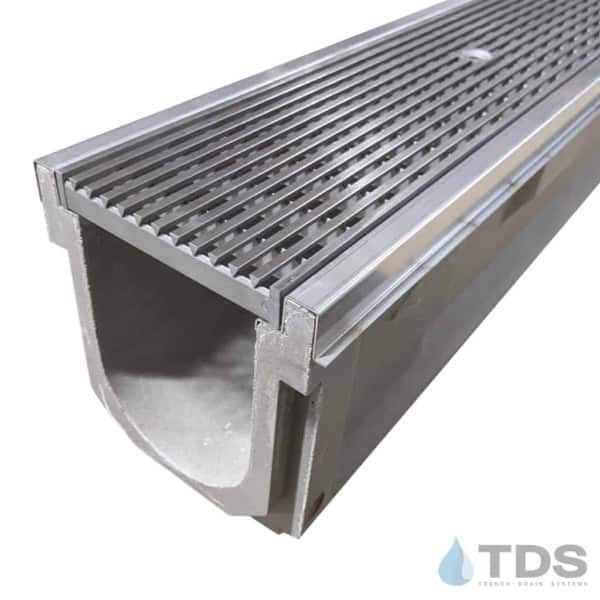 POLYCAST with SS Edge and SS Wedge Wire Grate DG0655