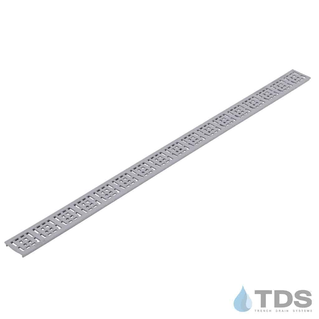 9253 NDS Slim Channel Gray Square Grate