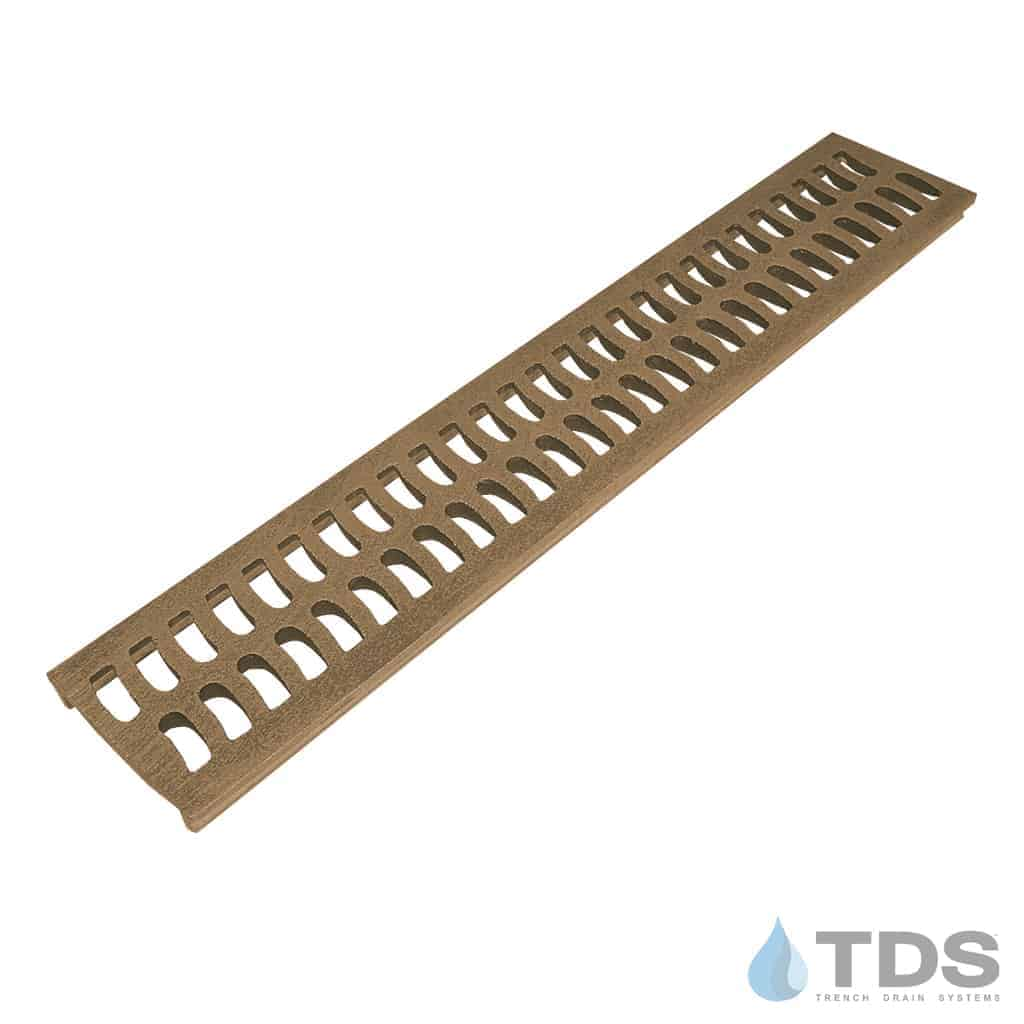 BA-SLOT-0212 Bronze Natural Finish Bronze Age Grates 2x12 for Slim Channel