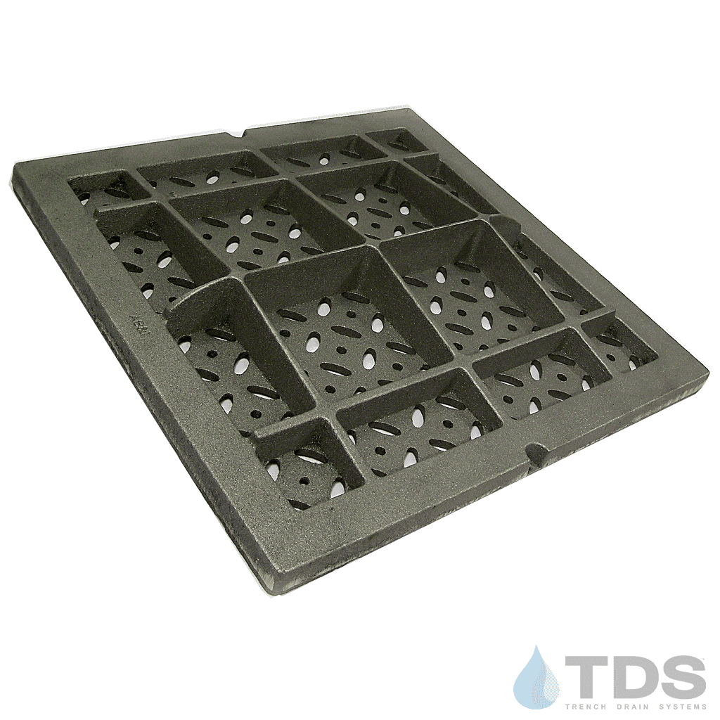 Iron 18 x 18 decorative grate