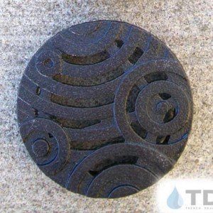 4inch-dia-oblio-TDSdrains baked on oil finish round