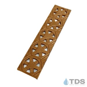 BA-TAR-0312 Bronze Natural Mini Channel Tardis Grate