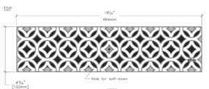Iron Age Interlaken Cast Iron 5x20 Grate Specs