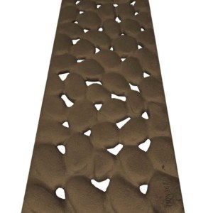 Iron Age 8x20 River Rock Grate - BoOF deco grate cast iron