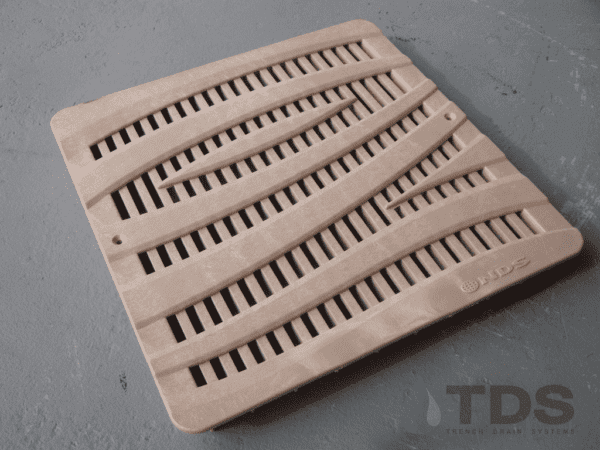 NDS1224S_Wave_12_inch_Basin_DECO_Grate_-_Sand_1024x1024
