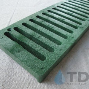 NDS242-green-slotted-grate Spee-D channel
