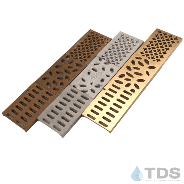 Bronze Age Grates by Trench Drain Systems