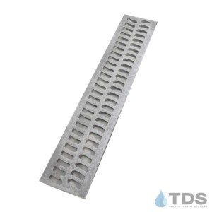 Slim Channel Aluminum Natural Slotted Grate BA-SLOT-0212