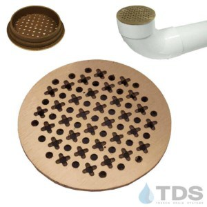 TDS-4in-bronze-satin-cathedral-TDSdrains