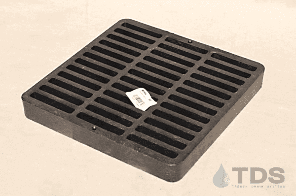 NDS980_Black_Plastic_Slotted_Catch_Basin_Grate_NDS_9x9