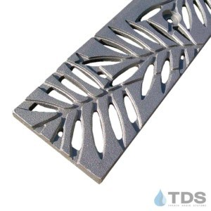 5x20 Iron Age Cast-Iron Grate Locust Grate Raw Finish