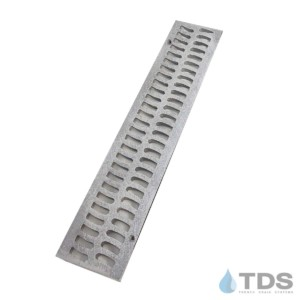 BA-SLOT-0212-A Slim Channel Aluminum Natural Slotted Grate