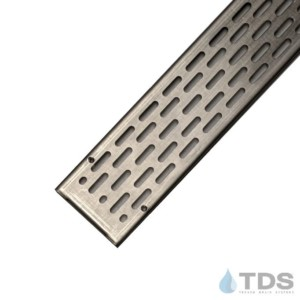Stainless steel slotted grates