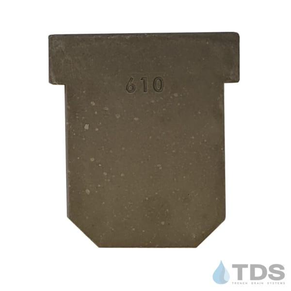 DV0610C - 610 Solid End Cap - POLYCAST