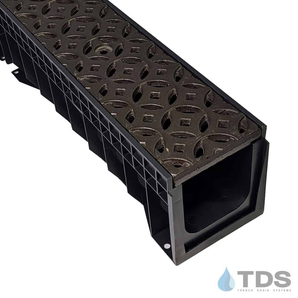 HYDROPLUS with Interlaken Cast Iron BoOF Grate IA-INTER-0520-BF